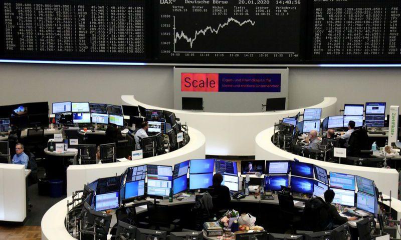 China virus fear spreads to European stocks