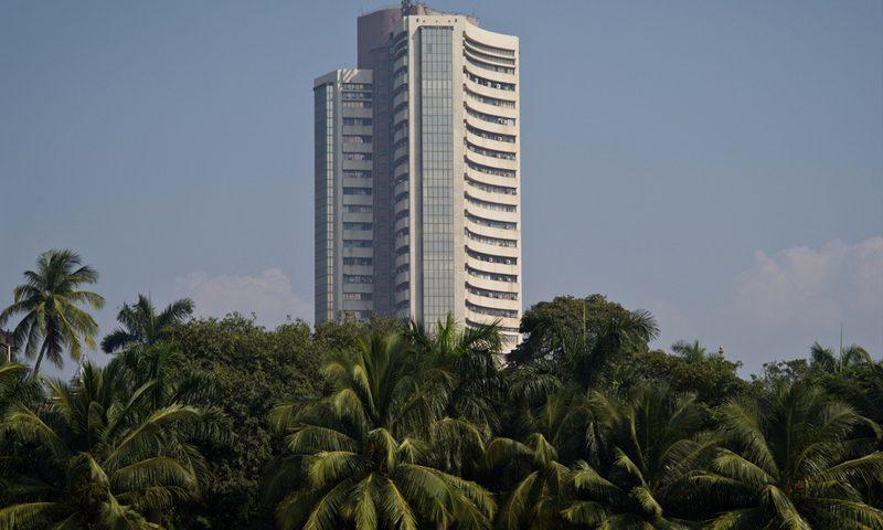 India stocks lower at close of trade
